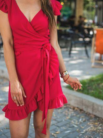 Sukienka Dolce Vita - red