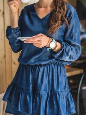 Sukienka Jess - jeans