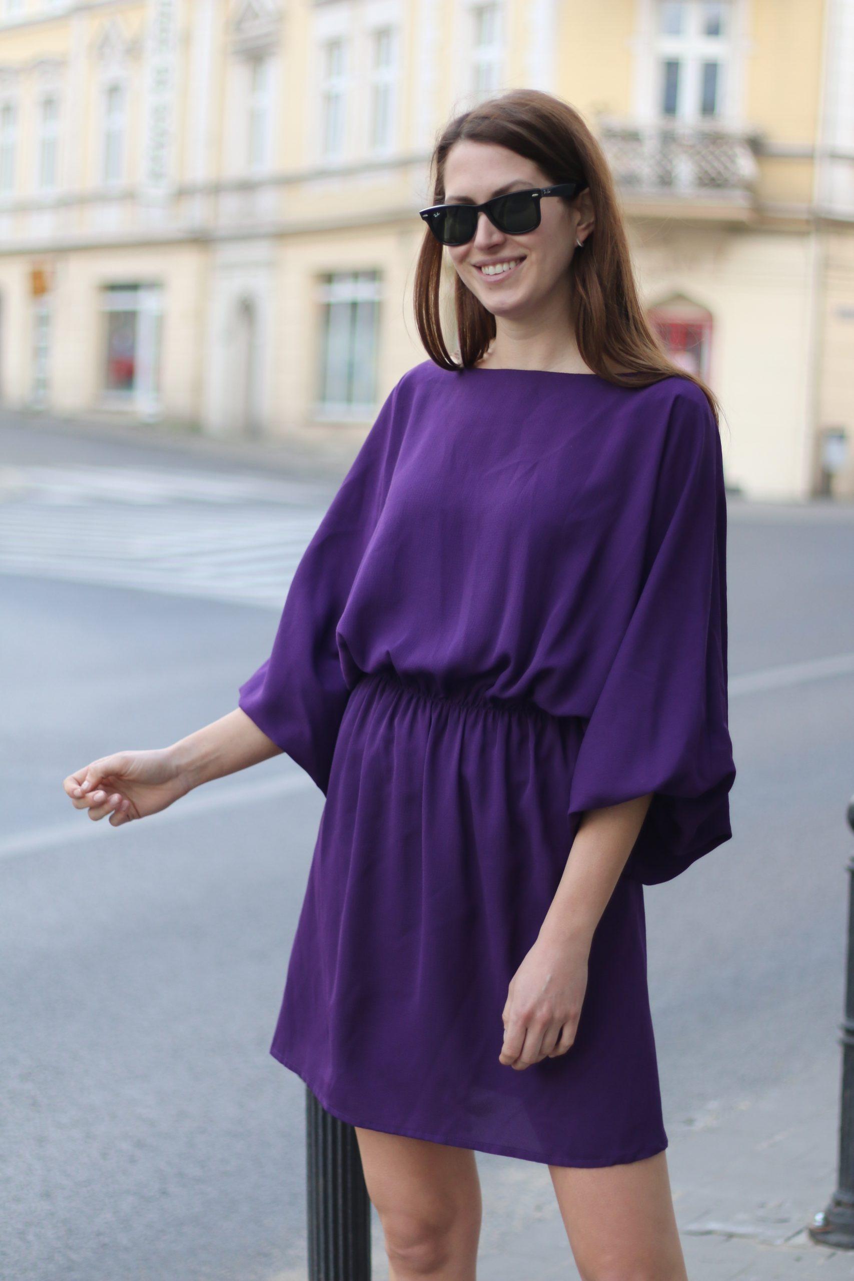 Sukienka Julietta * Fiolet