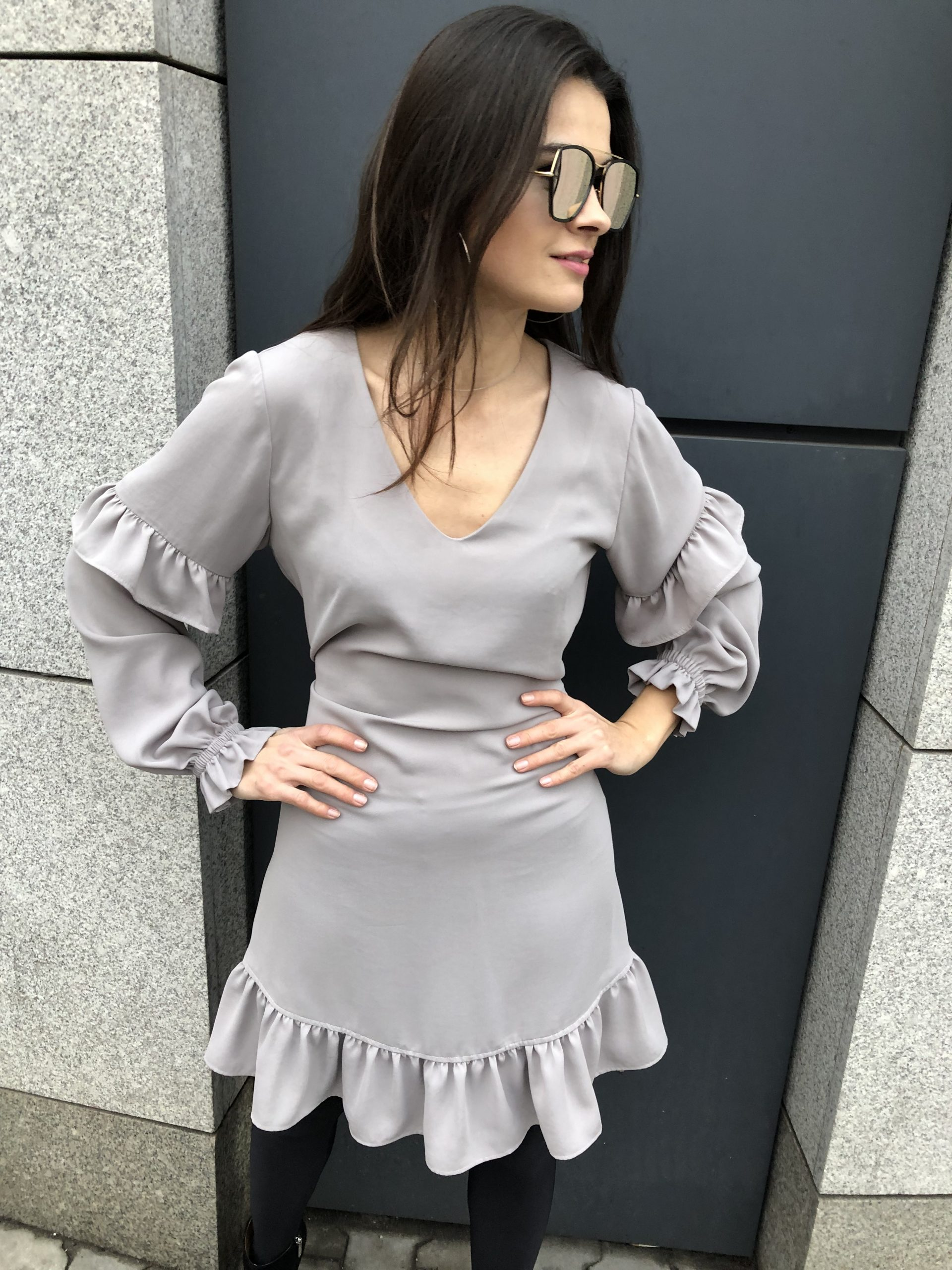 Sukienka Fiona * grey