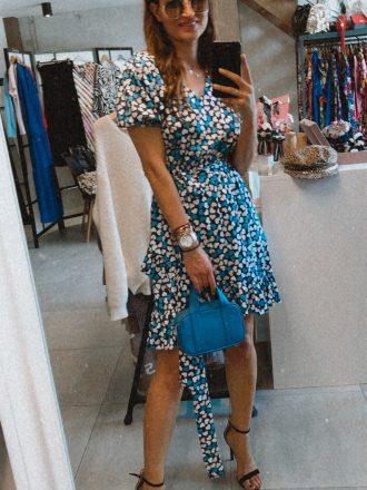 Sukienka Serena * niebieskie serduszka