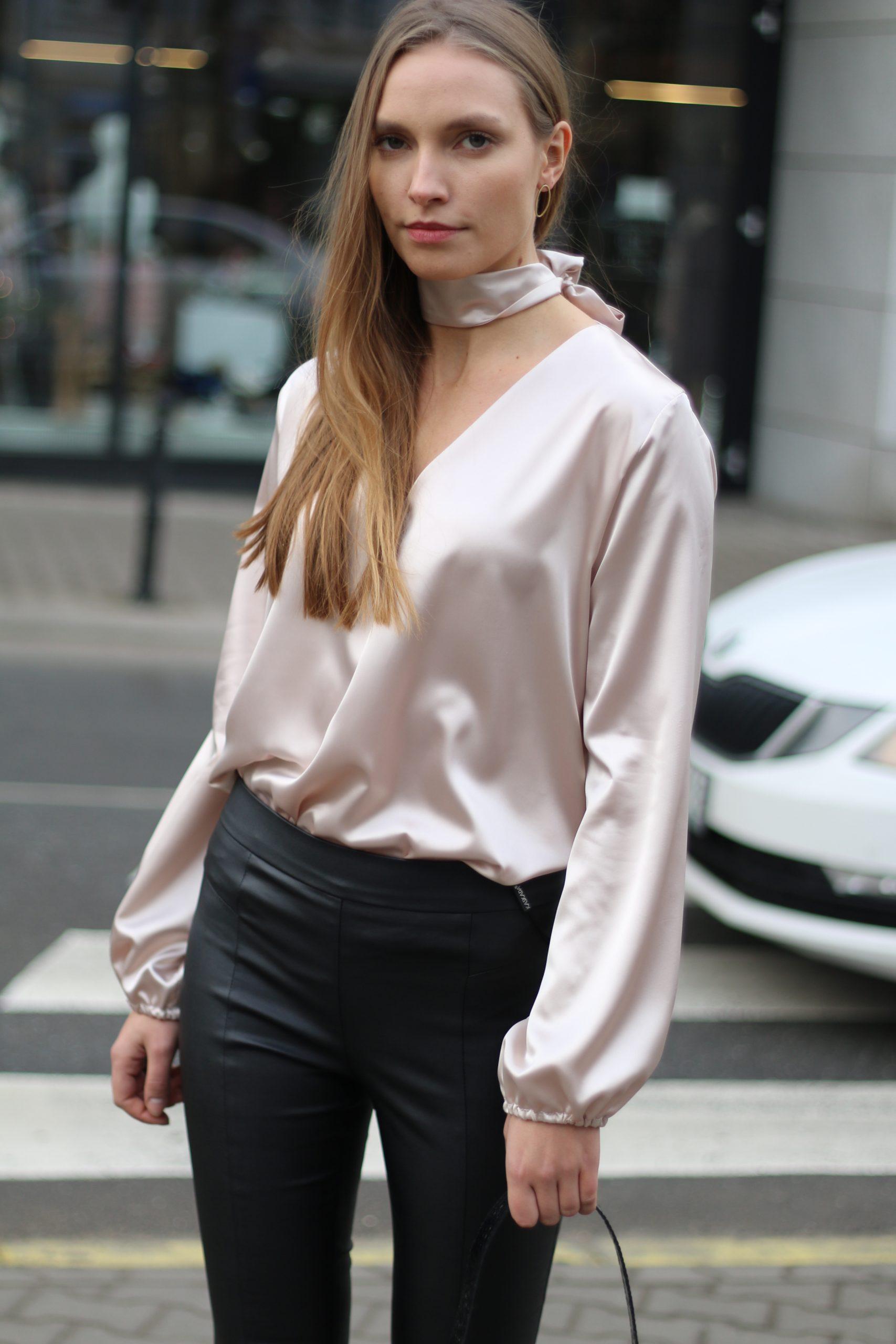 Koszula Lily * szampański beż