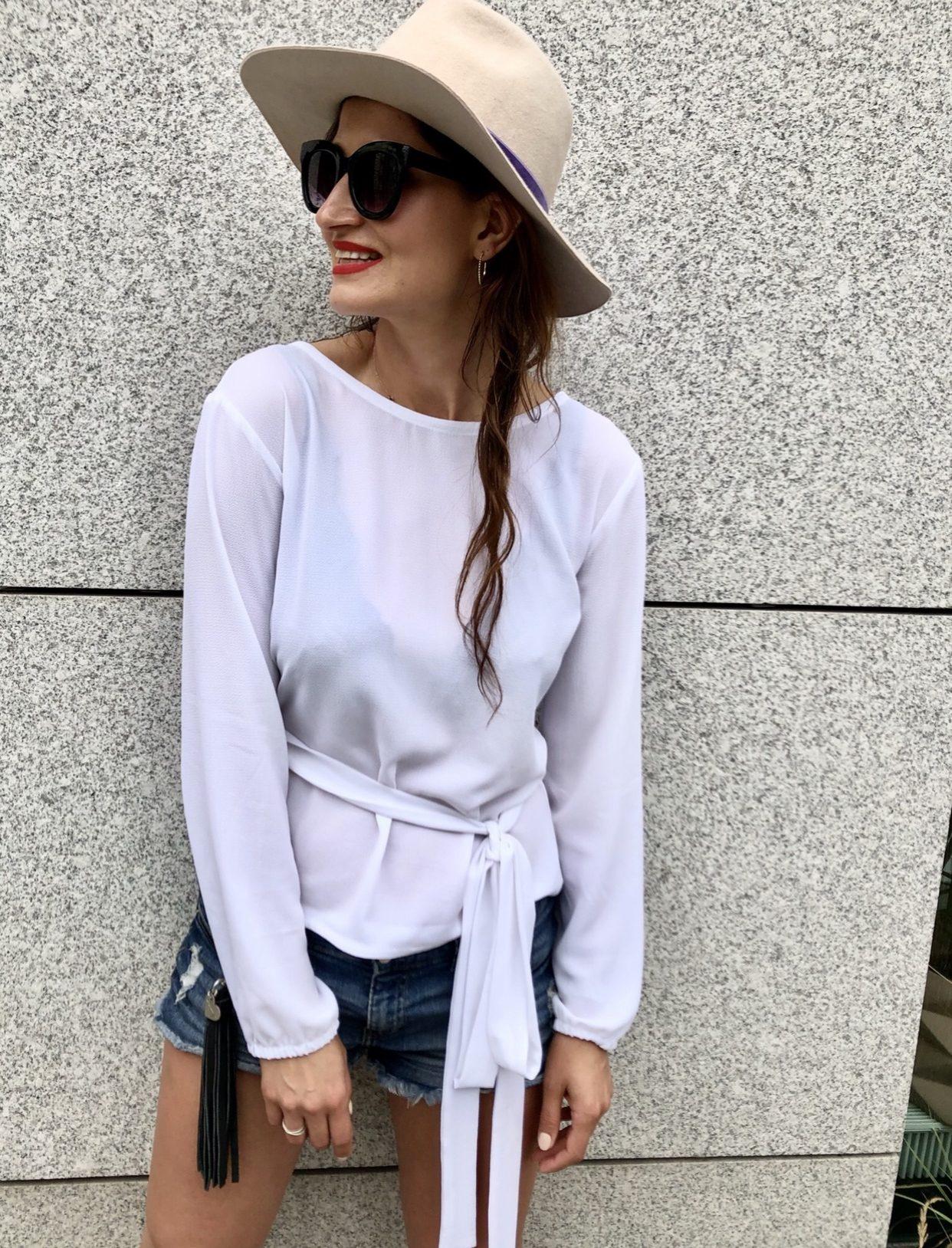Bluzka Amy * white