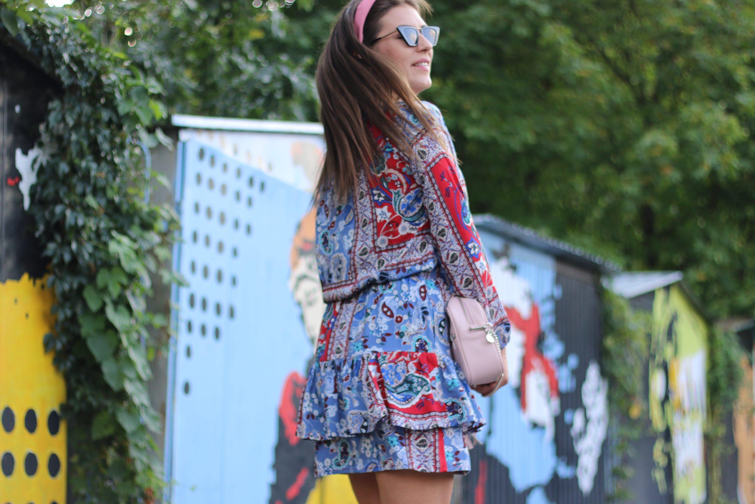 Sukienka Jess * malaga summer print